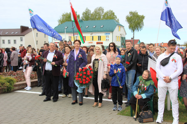 Employees of Belarusian NPP celebrated the Victory Day