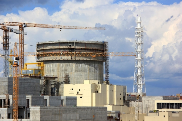 At the first power unit of Belarusian NPP, the stage of spillage of the systems on the open reactor was completed