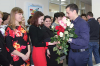 Mother's Day at Belarusian NPP