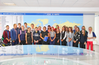 Senior students of Gervyaty school visited the information center of the NPP